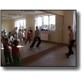 Taniec w Centrum Kultury w Rytwianach